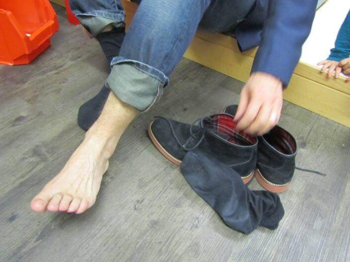 Fußvermessung