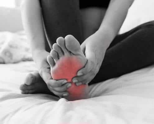 Schmerzen in den Füßen
